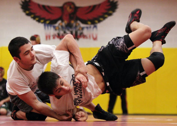 Wrestling: Hawk hungry for title
