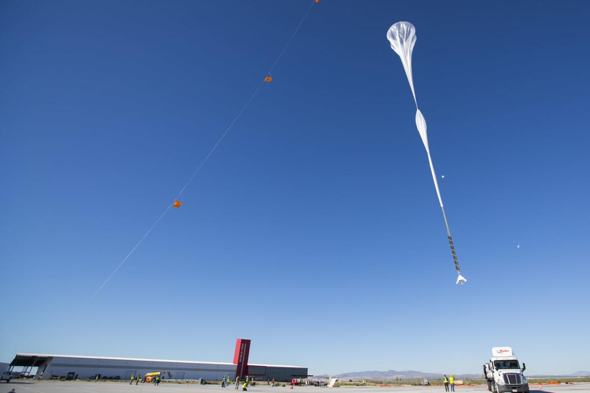 World View balloon flight from Tucson ends successfully after five days