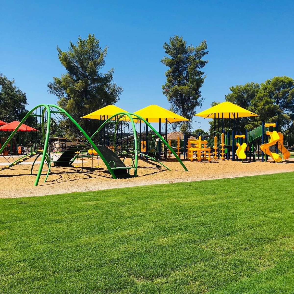 New Reid Park playground