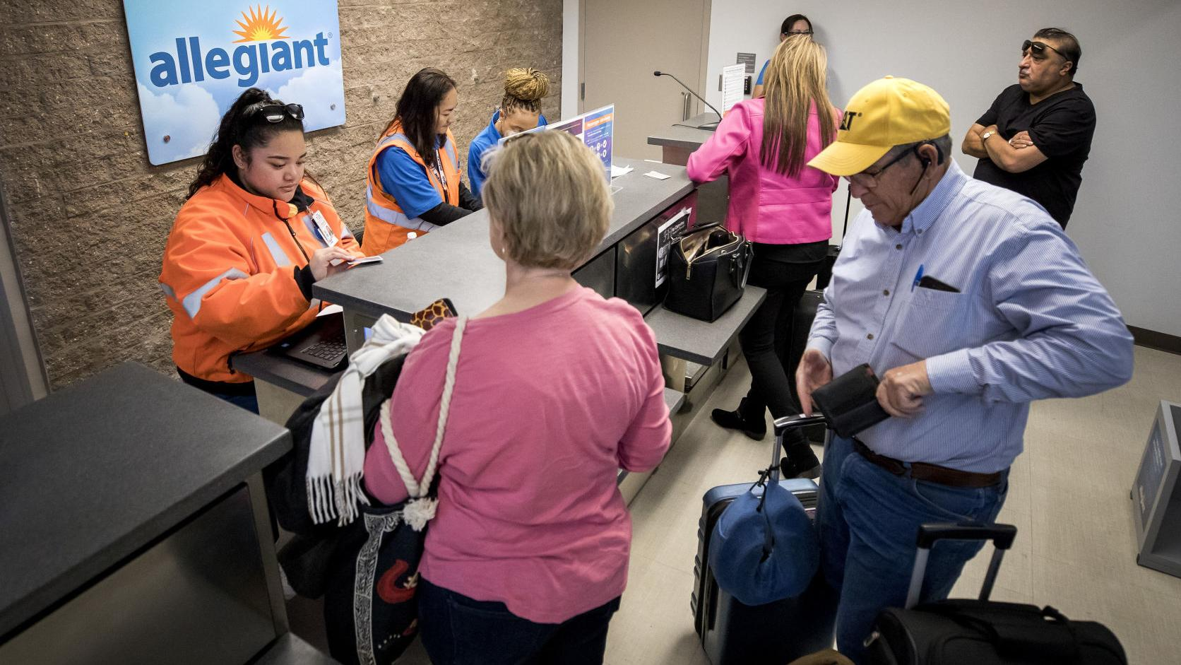 Allegiant Air Gets Ok To Drop Tucson Airport Service But Keeps Flying Business News Tucson Com