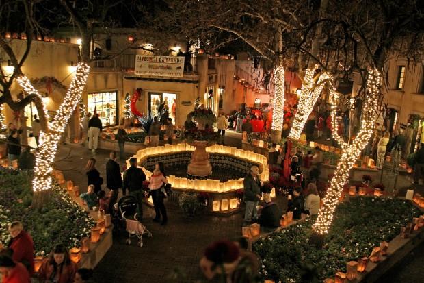 Los Abrigados Christmas Lights 2020 Sedona: luminarias cast a brilliant light | Arizona and Regional