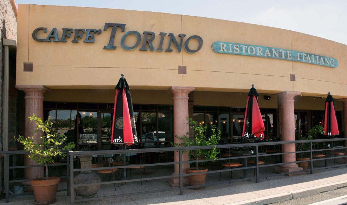 Torino Restaurant Tucson Menu