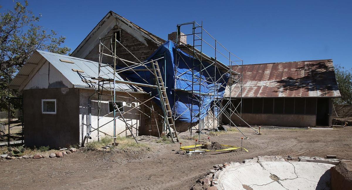 Historic Empire Ranch near Sonoita
