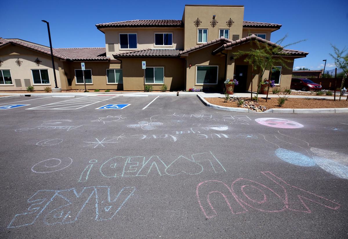 Chalk Drawings, Watermark at Continental Ranch