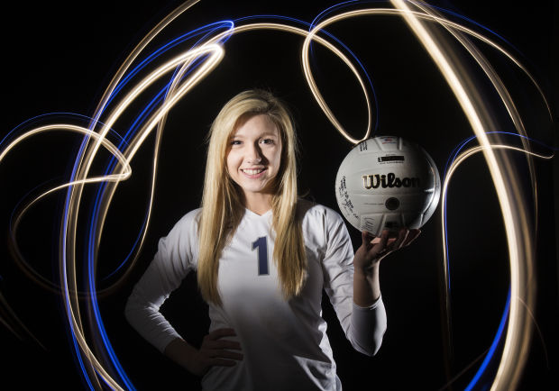 Fall 2013 Girls Volleyball Player of the Year Kennedy Kurtz