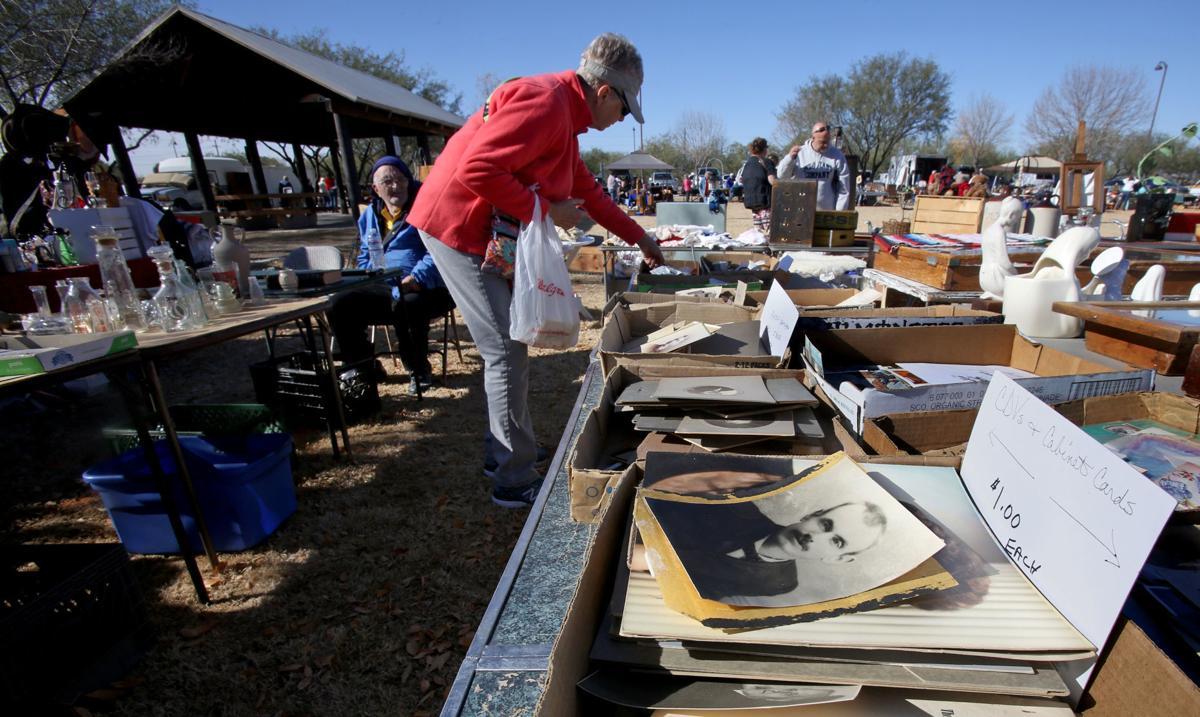 Antique/vintage fair at Brandi Fenton Memorial Park