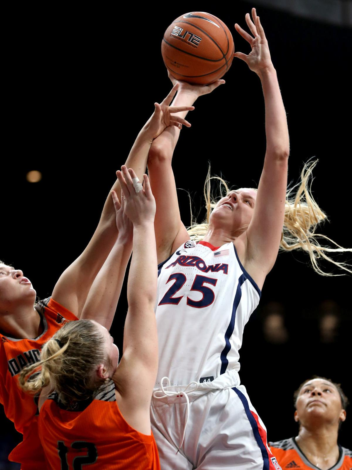 Greg Hansen: Arizona Wildcats women's basketball team ...