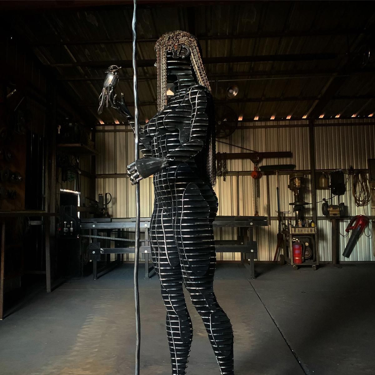 Stolen sculpture