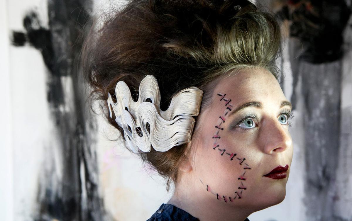 Bride of Frankenstein make-up