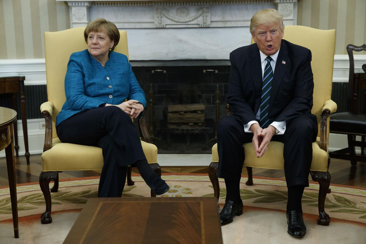 Trump US Germany