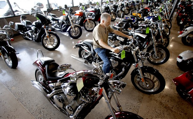 Used-motorcycle firm stretches out on 22nd