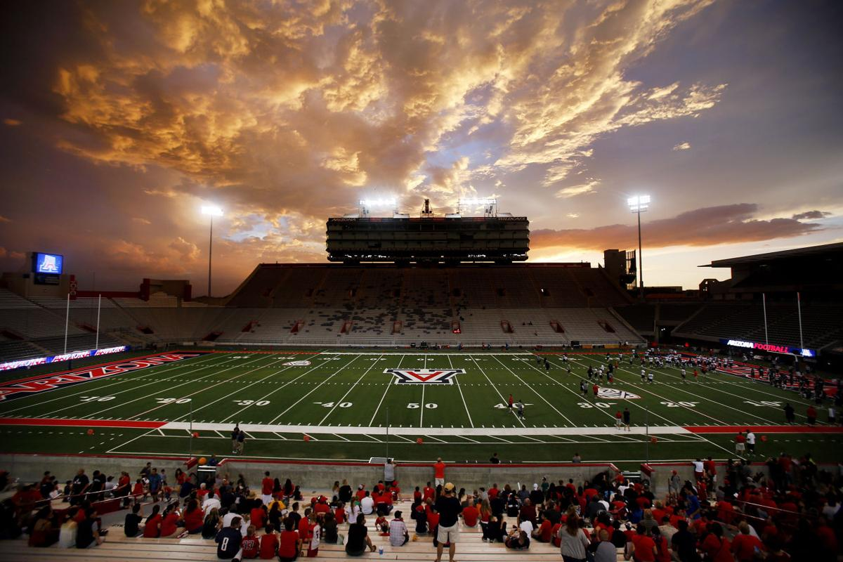 Meet the Team night at Arizona Stadium