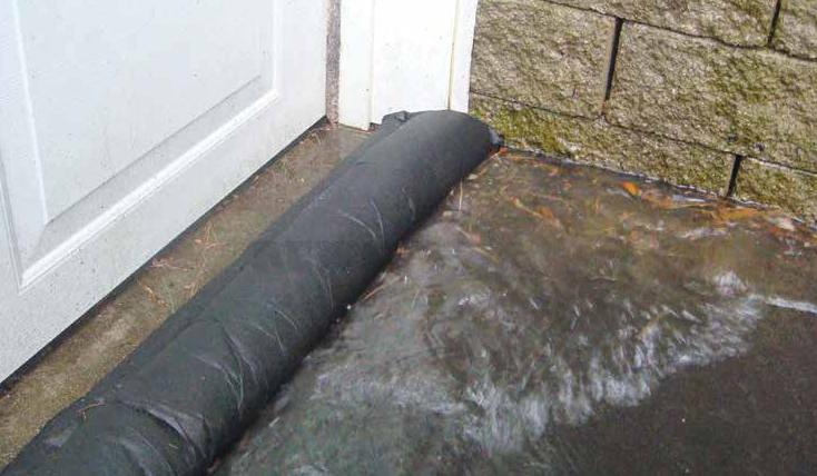 Quick Dams Can Keep Floods From Entering Your Home