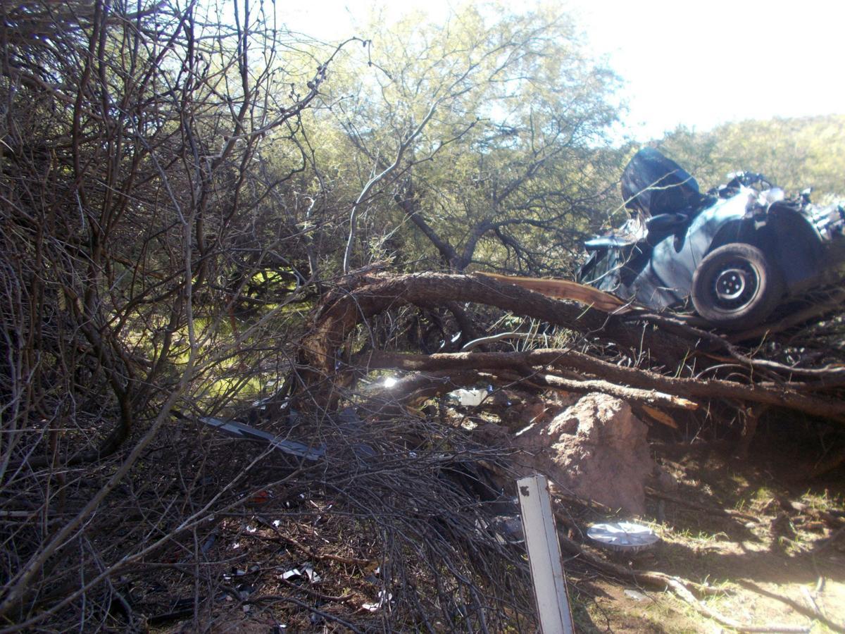 Injured woman rescued 6 days after car crash in Arizona