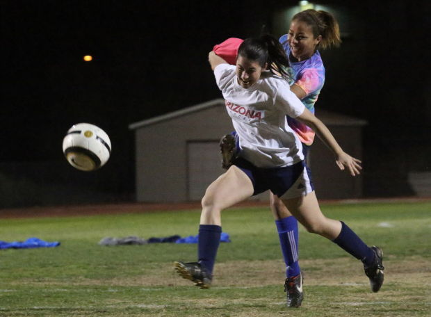Catalina Foothills girls soccer