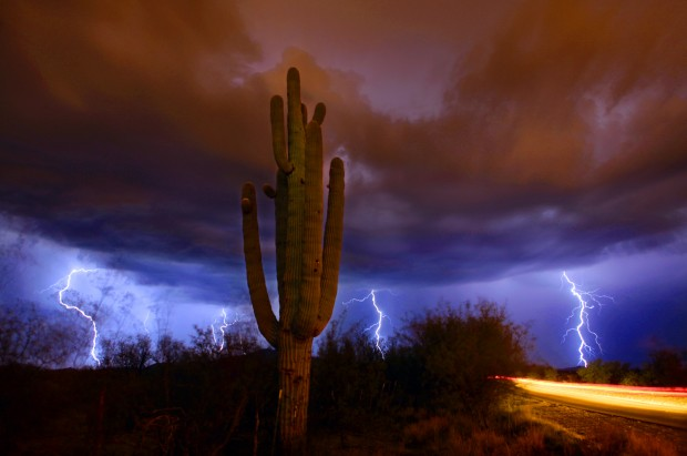 Monsoon storms in Summer, 2011