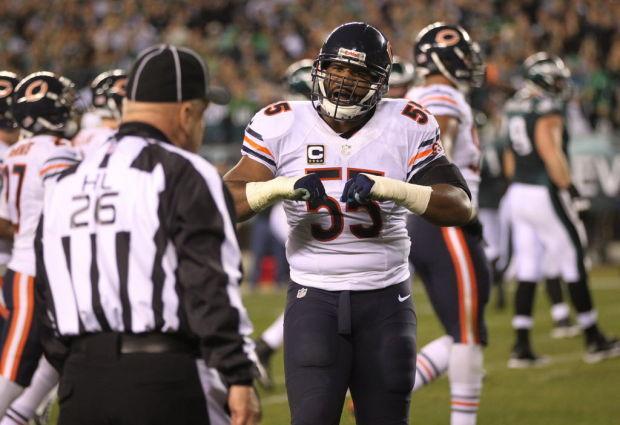 NFL; Bears v Eagles