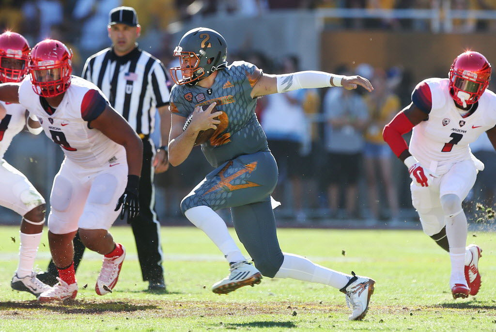 Arizona vs. Arizona State college football