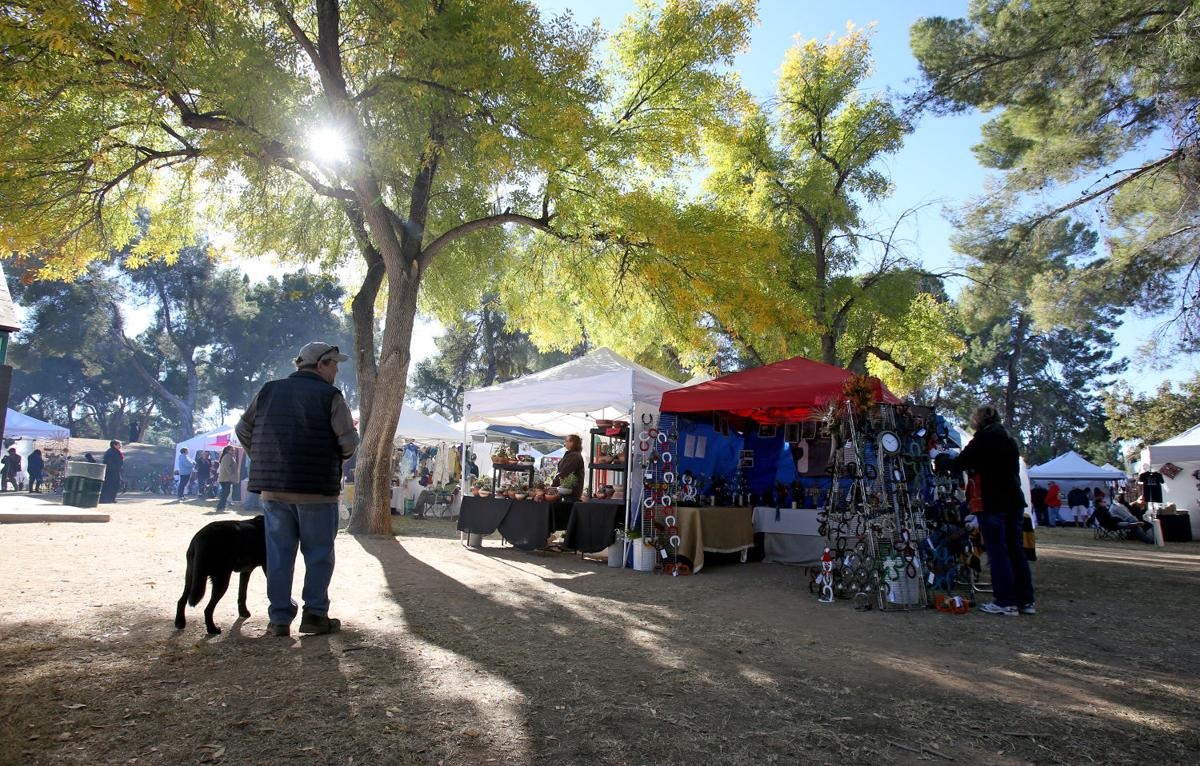 Reid Park Holiday Arts And Crafts Fair
