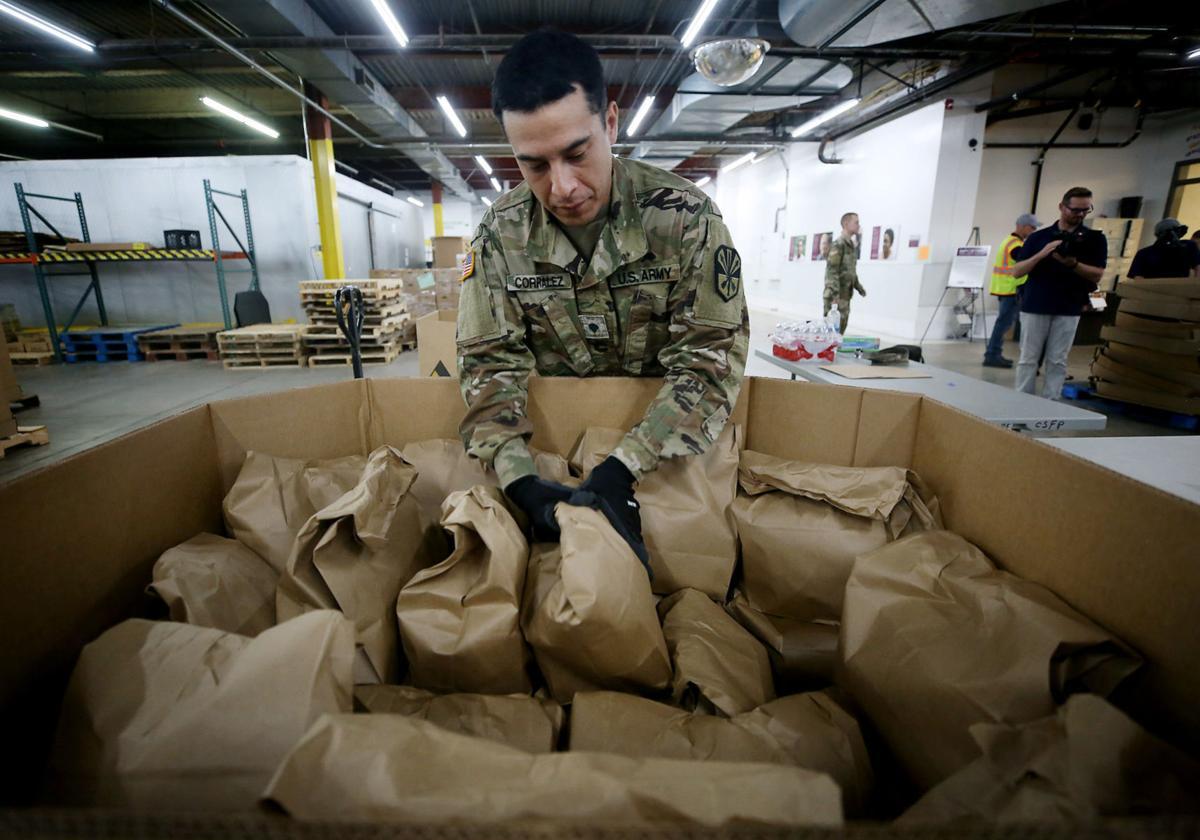 National Guard, Community Food Bank