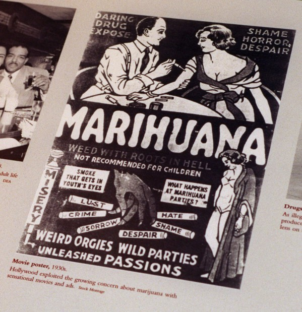 A history of marijuana in the United States