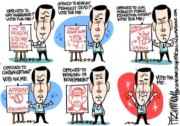 Daily Fitz Cartoon: Sanctum Santorum