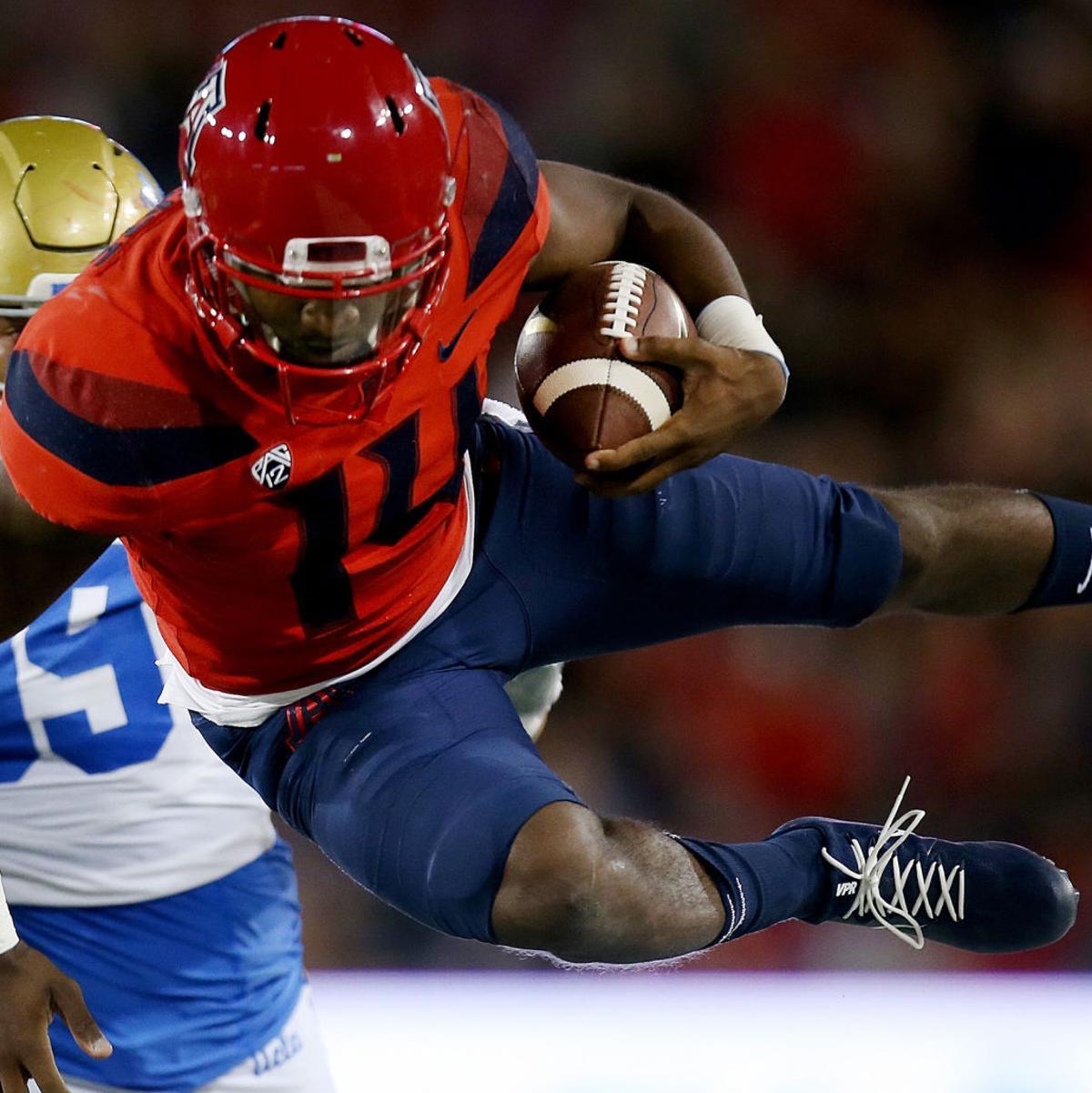 Khalil Tate for Heisman? Arizona Wildcats QB ranks in top