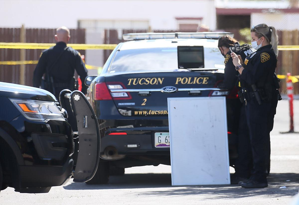 Tucson, shooting scene