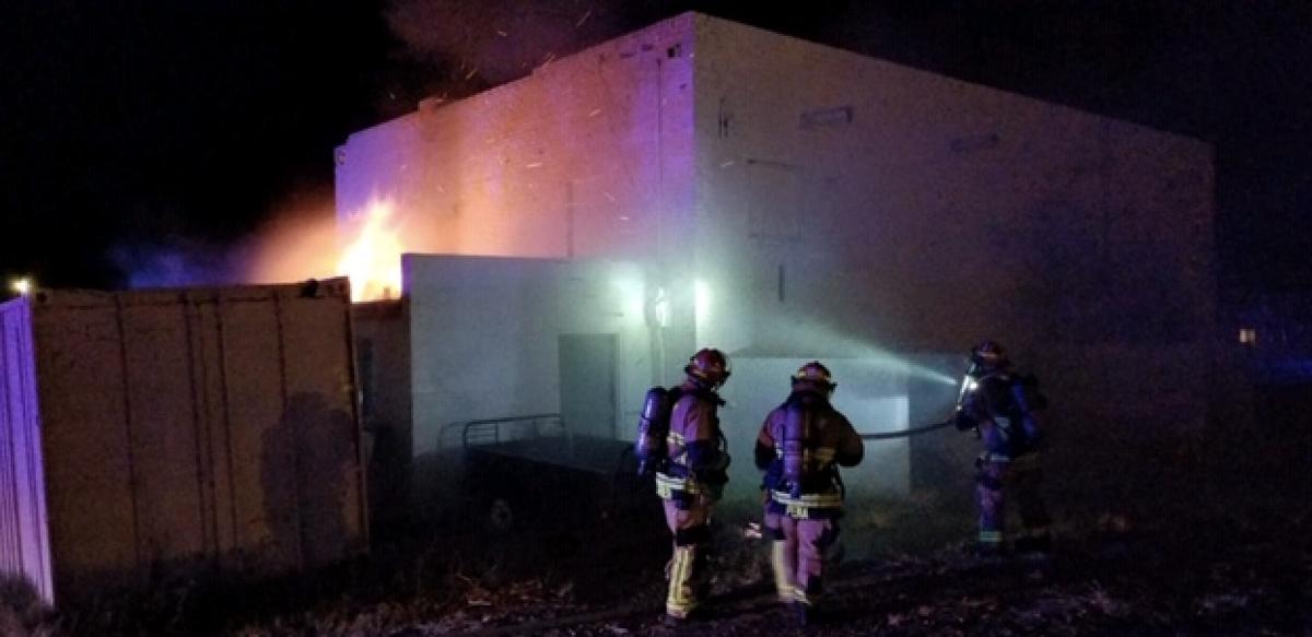 South Six Avenue Fire