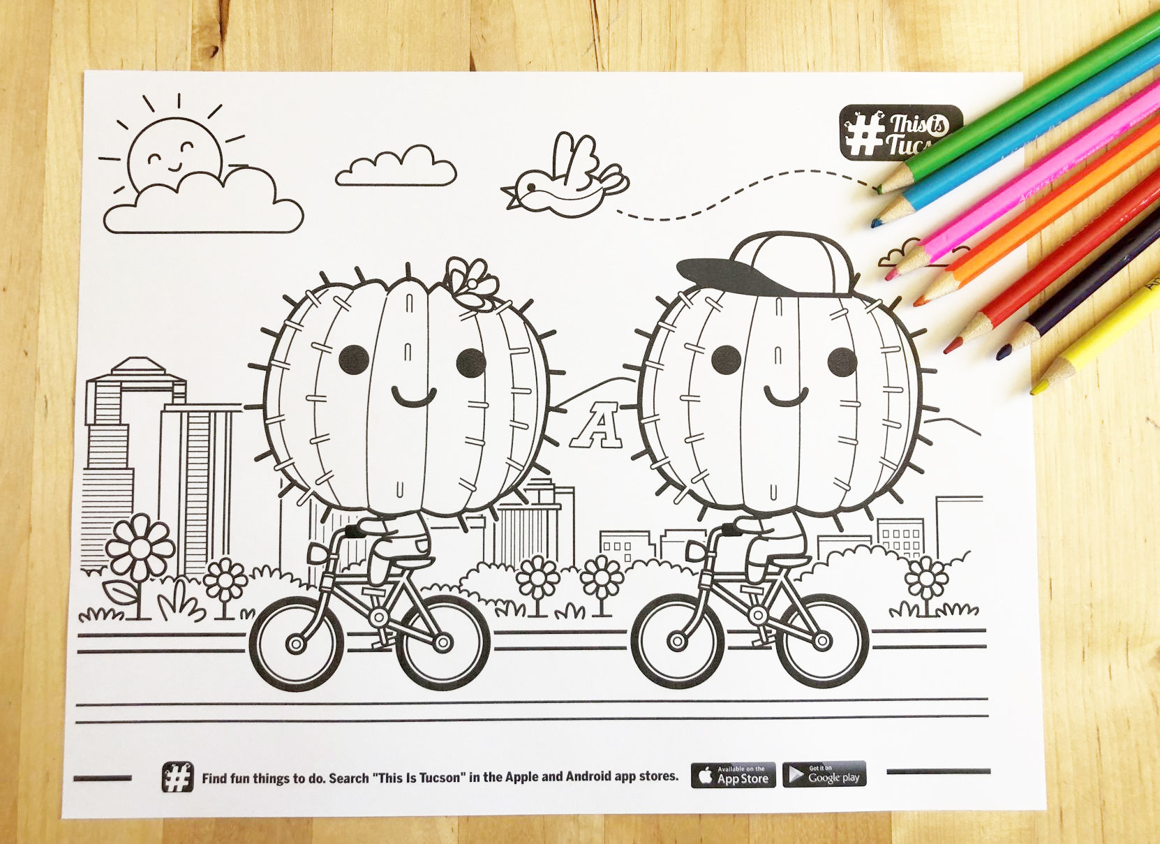 - De-stress At Home With Free Coloring Pages Made By Tucson Artists