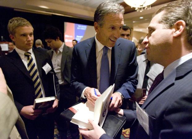 UA honors Starbucks CEO Schultz