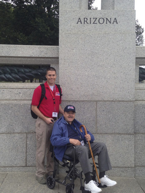 Airman takes a trip with Honor Flight