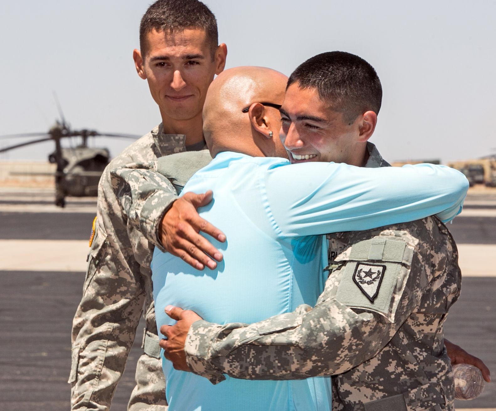 How to meet an army man
