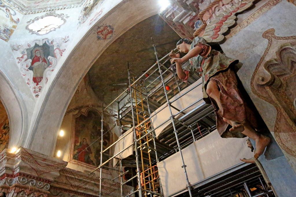 San Xavier restoration