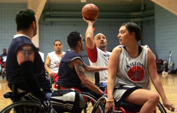 UA camp hosts disabled vets