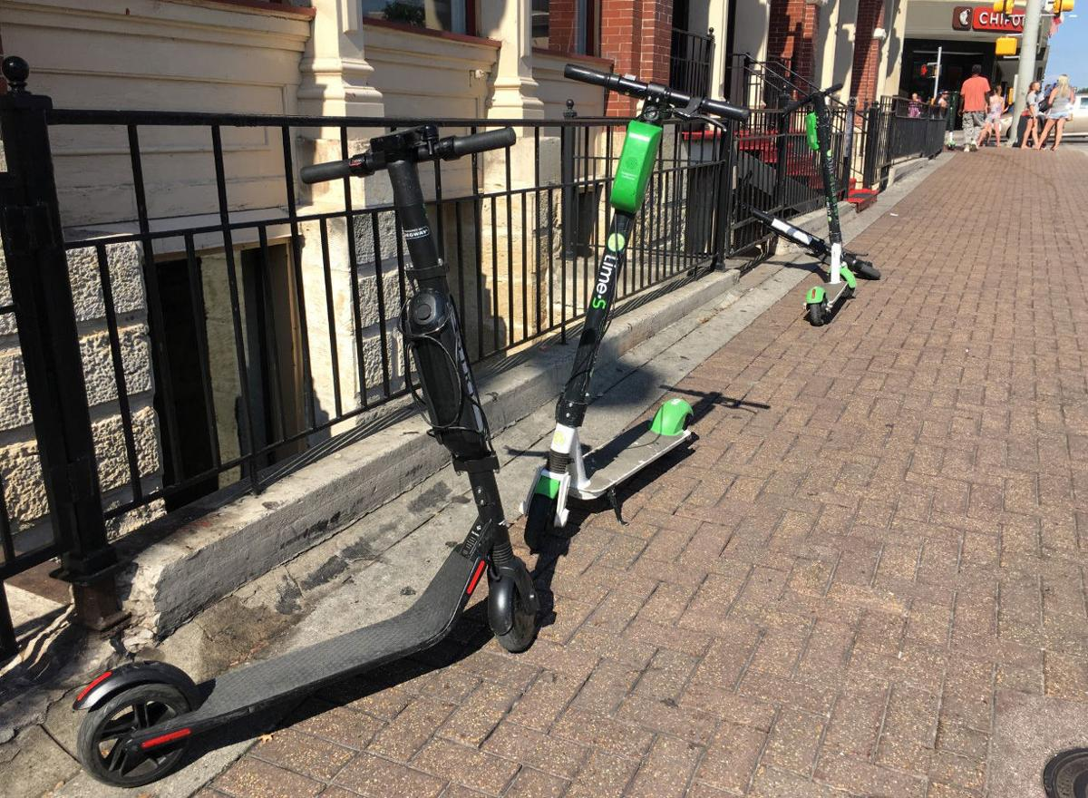 Scooters in San Antonio