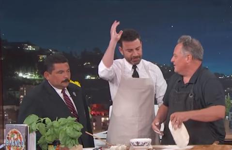 Arizona pizza chef Chris Bianco appears on Jimmy Kimmel Live