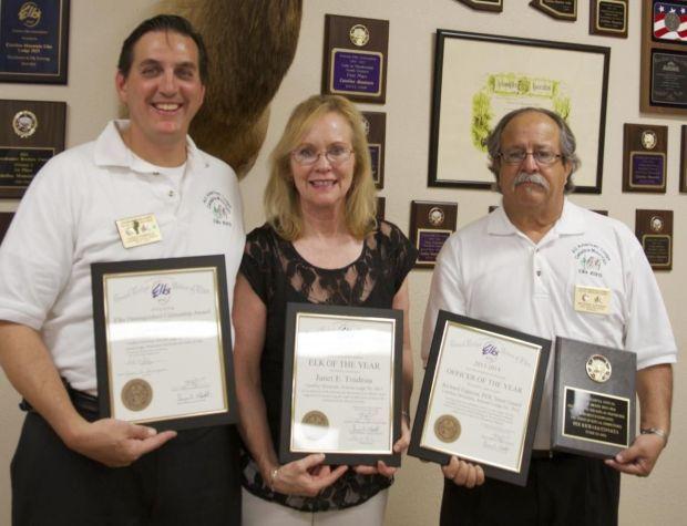 Elks awards