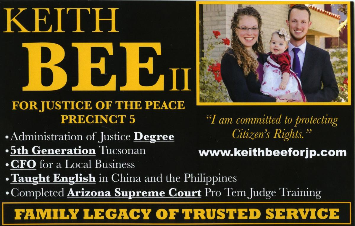 2018 Elections – Keith Bee II, Justice of the Peace, District 5