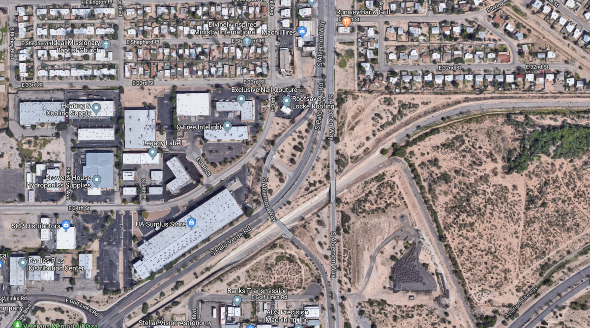 Palo Verde drive-by shooting