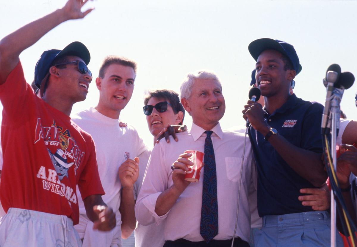 1988 Arizona Wildcat basketball rally and parade