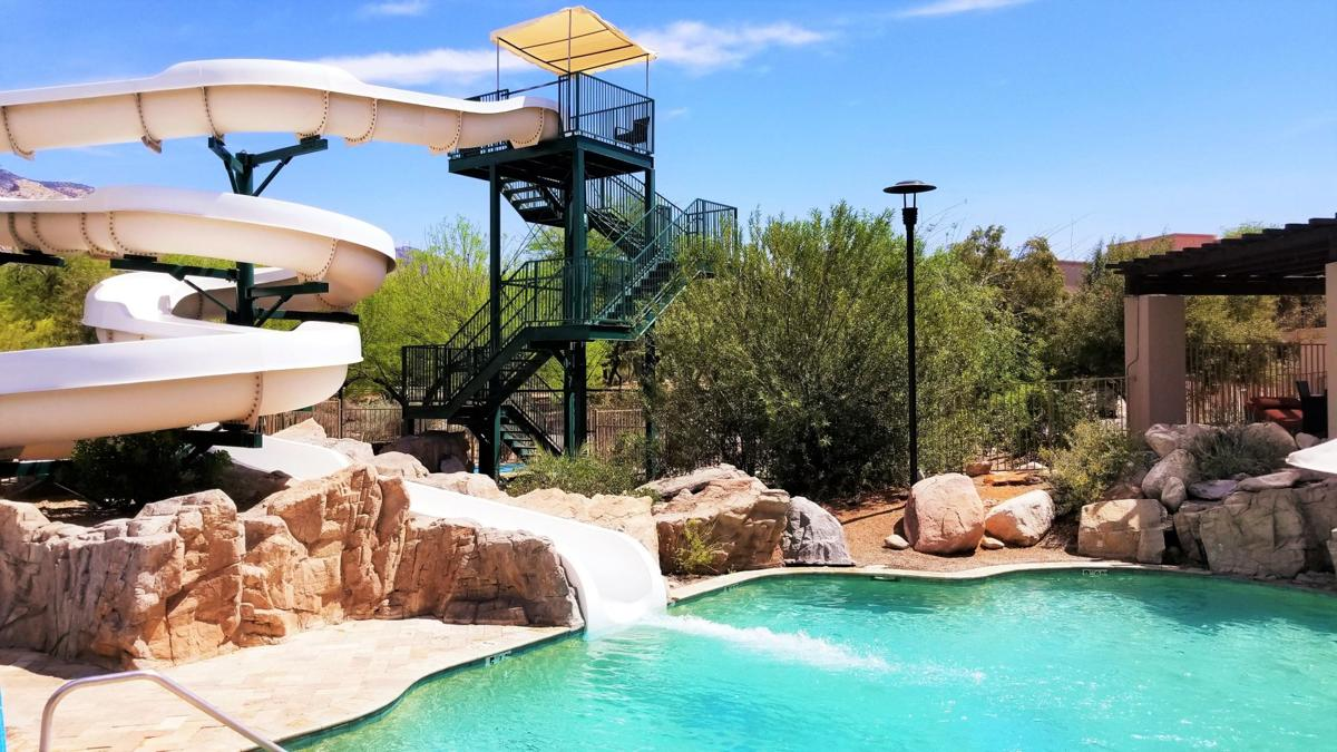 The Westin La Paloma water slide