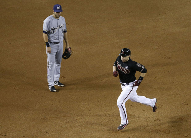 Diamondbacks 5, Brewers 4: Winner scores on bases-loaded walk
