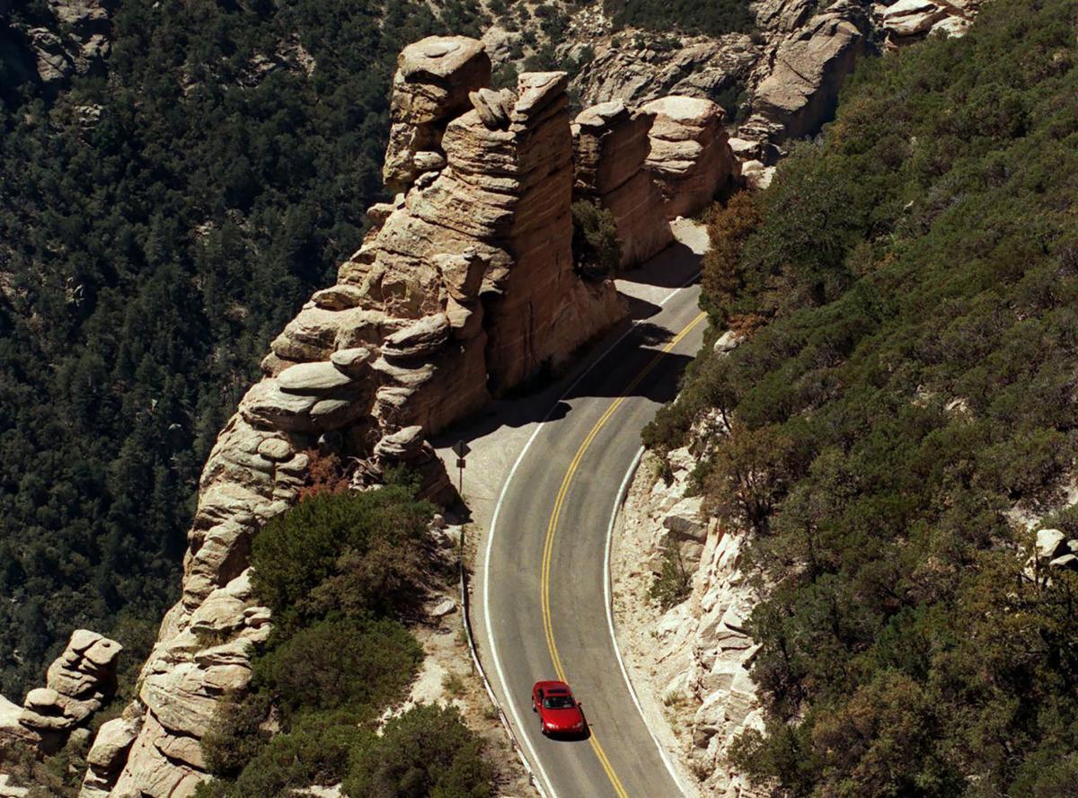 Mt Lemmon Highway