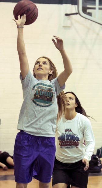 Girls basketball: She's the best - and much more