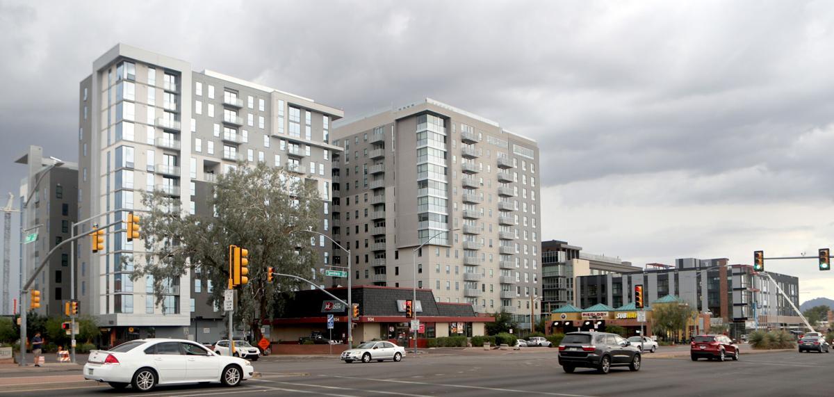 Student housing, Hub, University of Arizona
