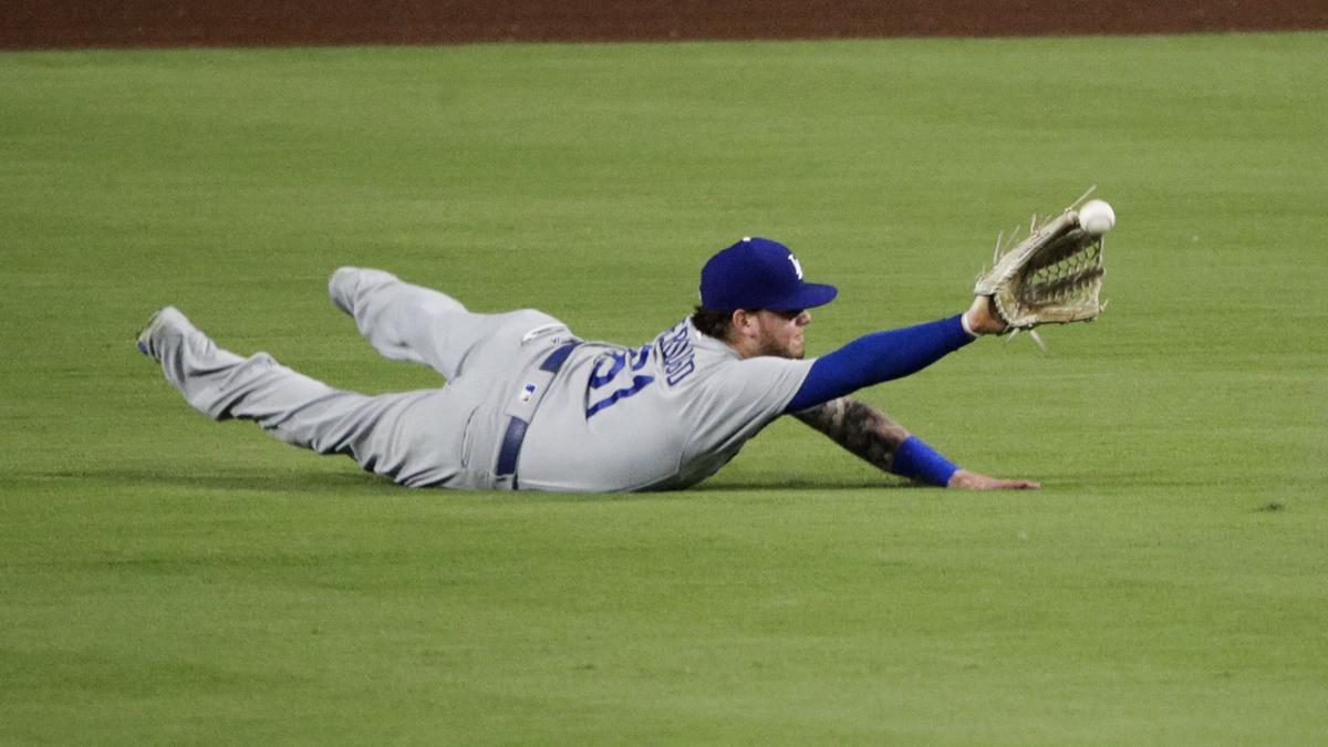 Hansen's Sunday Notebook: Verdugo's quick climb led to spot in Dodgers' lineup