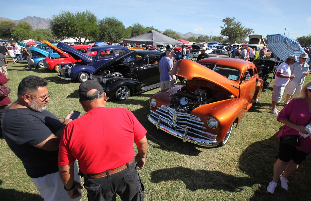 Rotary Clubs Annual Car Show Raises For Local Charities - Tucson classic car show