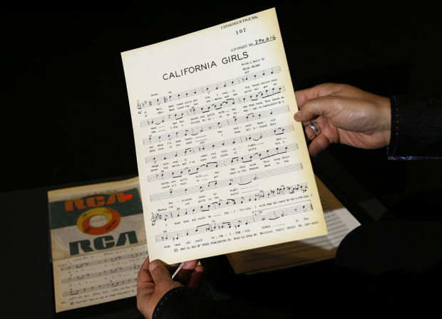 'The lost archive' of Beach Boys is on the auction block