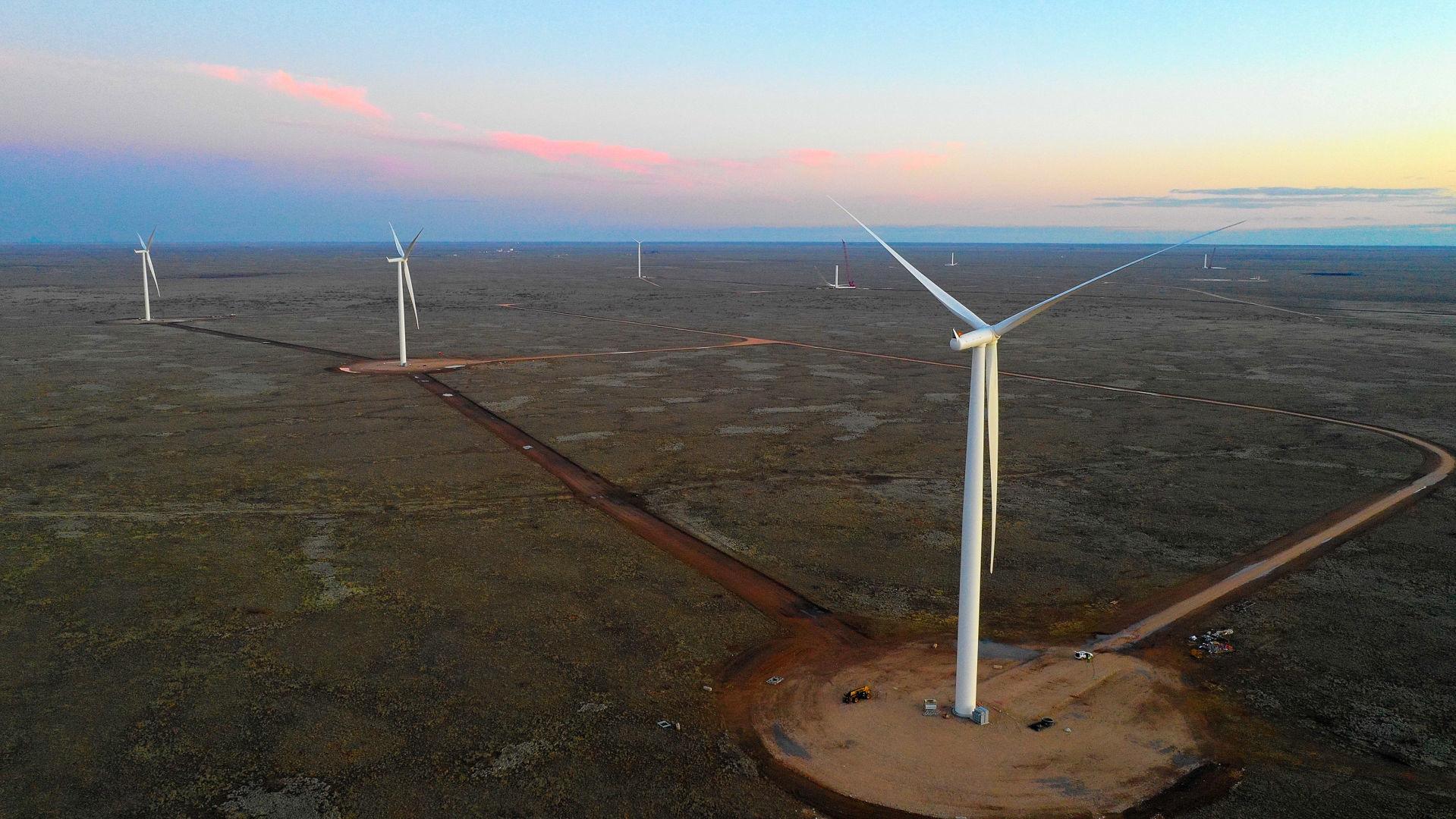 Oso Grande wind farm